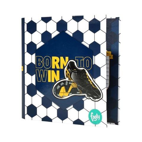 Carpeta Nº3 3x40 Cartón Footy FC-100