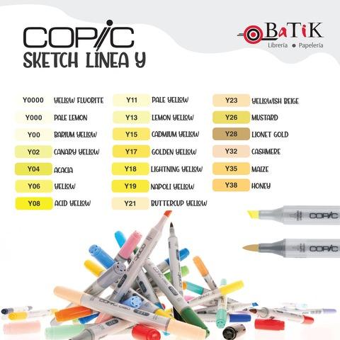 Copic Marcador Sketch  Línea Y