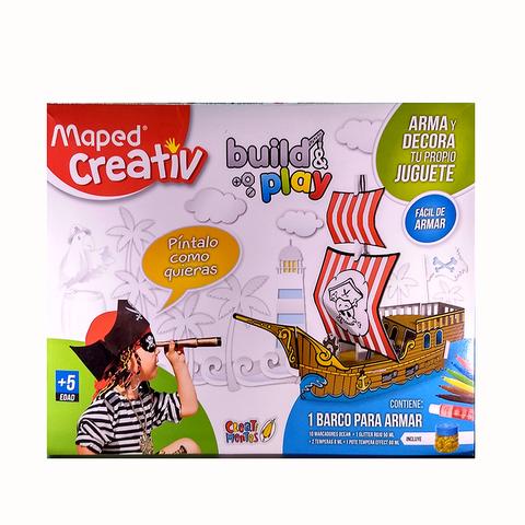 Set didáctico Maped Juguetes de cartón Piratas