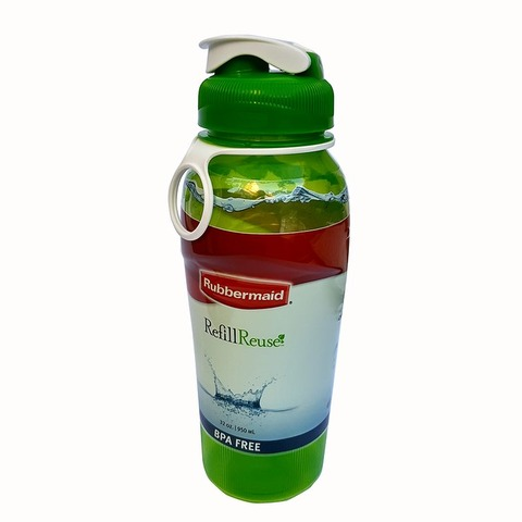 Botella Reutilizable Rubbermaid 950ml Verde