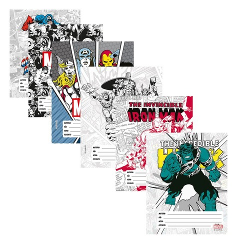 Separadores  N°3 x6 Mooving Marvel 1101208