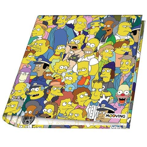 Carpeta Nº3 3x40 Mooving The Simpsons Personajes