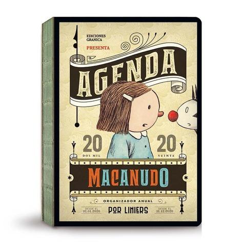 Agenda 2020 Granica Lic. Macanudo Semanal Nº8 Encuadernada Fdo. Claro