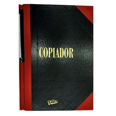 Libro Rab Copiador TD-500 Folios