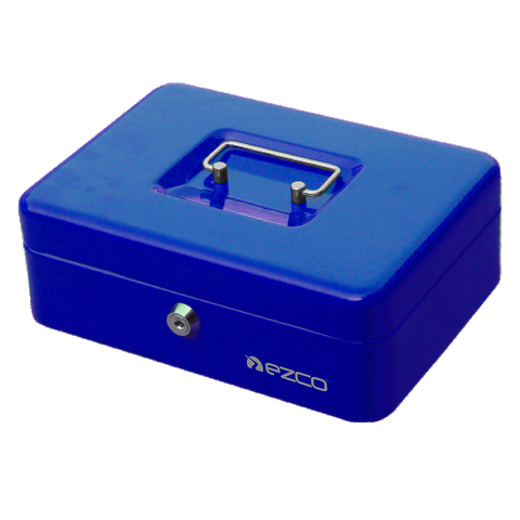 Cofres Portavalores Ezco 8878 XS Extra Chico Azul
