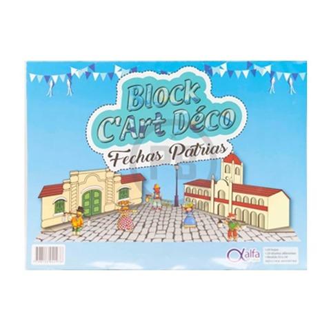 Block de dibujo Nº5 Fantasía Fechas Patrias Alfa
