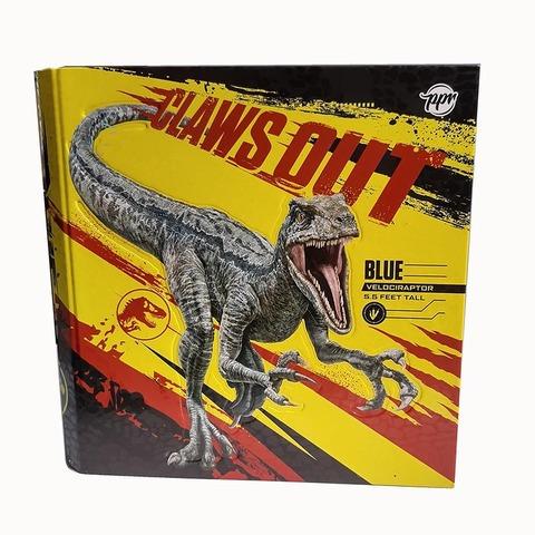 Carpeta Nº3 3x40 PPR Cartón Claws Out Velociraptor