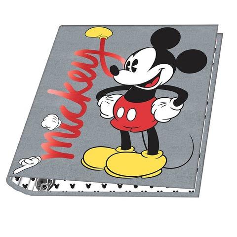 Carpeta Nº3 3x40 Mooving Mickey Fondo gris