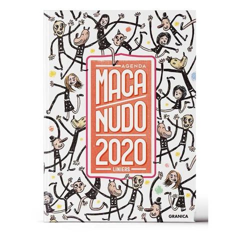 Agenda 2020 Granica Lic. Macanudo Semanal Nº8 Encuadernada Personajes