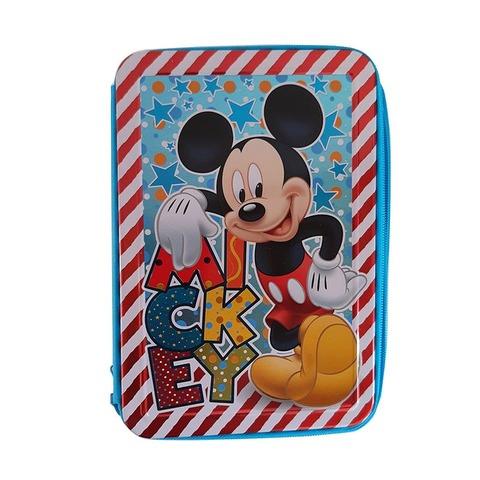 Cartuchera 2 Pisos Lata Lic. Mickey KM852