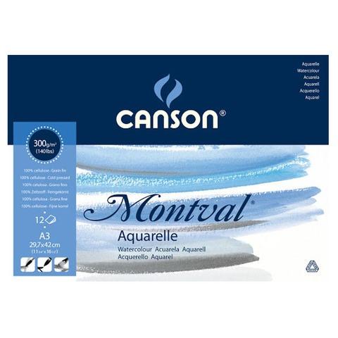 Block Canson Montval 300grs - A3 (Encolado)