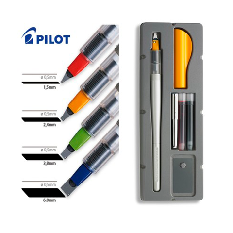 Pluma Pilot Parallel Pen 1.5mm