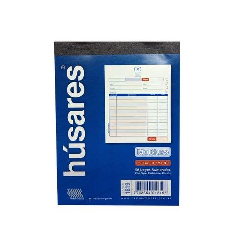 Talonario Presupuesto Húsares N°1 (11,5x15cm)