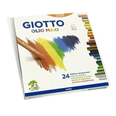 Pastel al Óleo Giotto x24