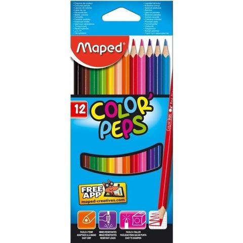 Lápiz Maped Colorpeps x12
