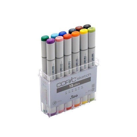 Copic Marcador Sketch x12 Basic