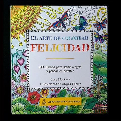 Libro para colorear Zen Felicidad