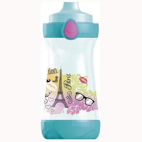 Botella Reutilizable Maped 430ml Concept Picnik celeste y rosa