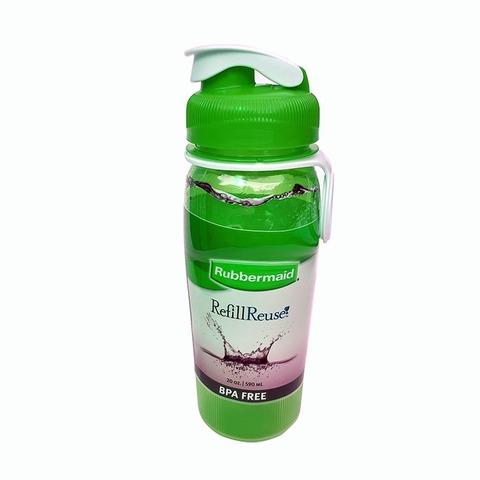 Botella Reutilizable Rubbermaid 590ml Verde