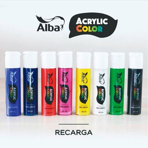 Alba Acrylic Recarga Marcador Común 30ml