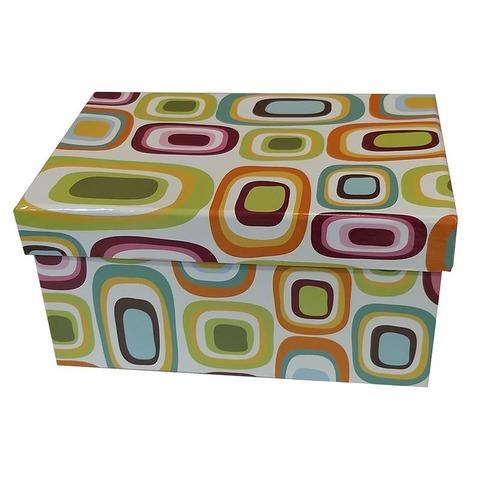 Caja de cartón plastificada Nº3 L