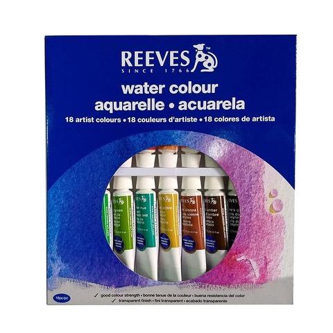 Acuarelas Reeves x18 Pomos 10ml