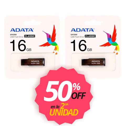 USB Drive Adata 16GB UV250 x2U.