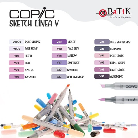 Copic Marcador Sketch  Línea V