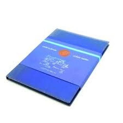 Cuaderno escolar 90grs Marca: 1810 16x21 Rayado Tapa Azul x192hjs