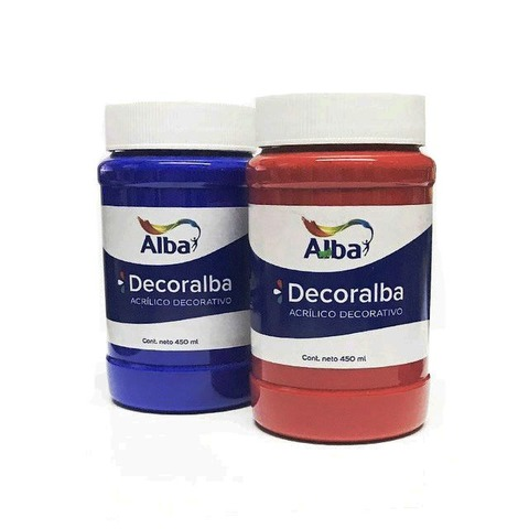 Acrílico Decorativo Alba Decoralba 450ml Comunes