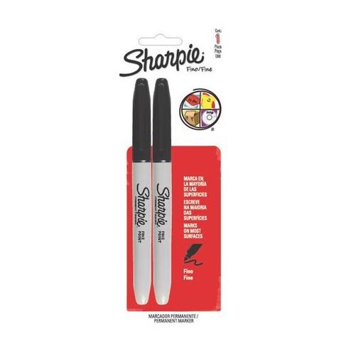 Marcador Sharpie Permanente Fino X2