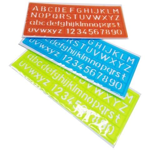 Plantilla Onix Letras y Numeros 10mm aprox. (7001.4)