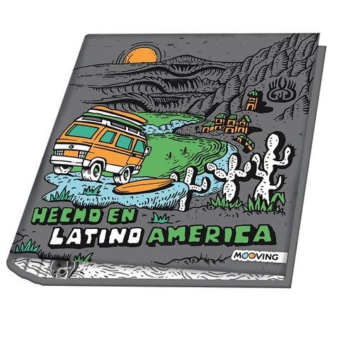 Carpeta Nº3 3x40 Mooving Camarón Brujo Latinoamerica