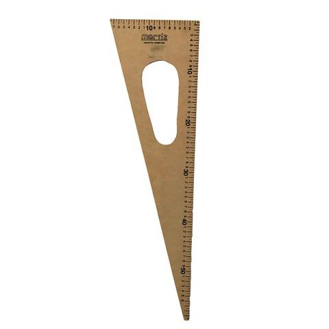 Útiles para Pizarra Escuadra Fibrofacil 60cm