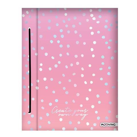 Carpeta A4 dos tapas Mooving Pastel 1007210