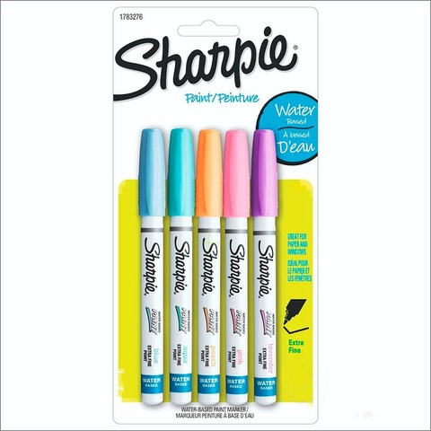 Marcador Sharpie Paint Set x5 Pastel