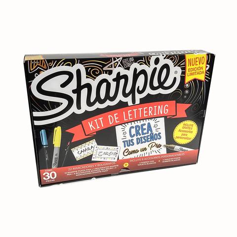 Marcador Sharpie Set x22 Combinados Lettering