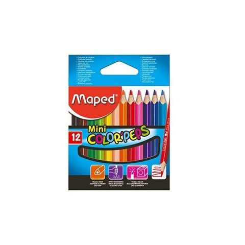 Lápiz Maped Colorpeps x12 Cortos