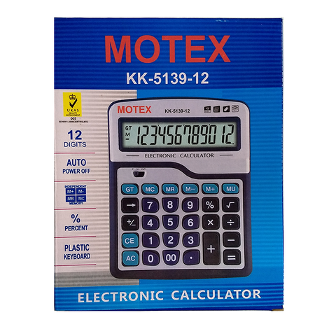Calculadora Motex KK-5139