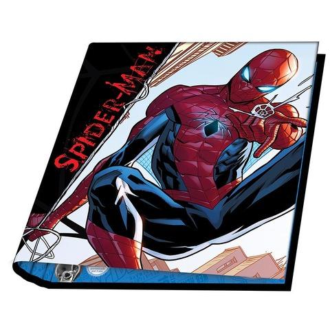 Carpeta Nº3 3x40 Mooving Spiderman Fondo City