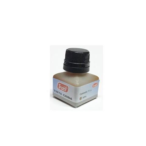Tinta China Trabi 15cc. Común color Sepia