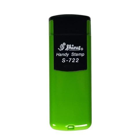Sello 3 Líneas + Aparato Pocket S722 Verde Manzana