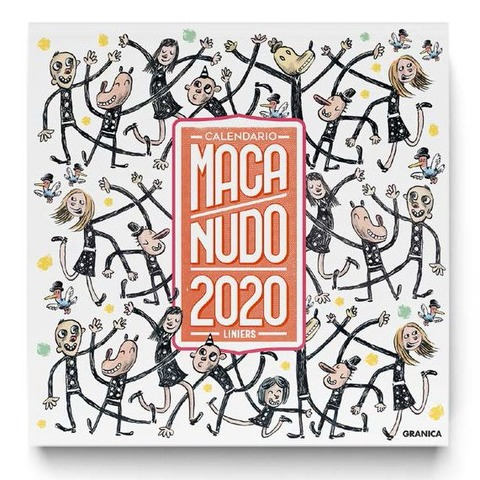 Calendario 2020 de pared Macanudo