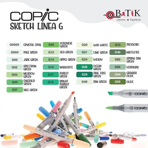 Copic Marcador Sketch  Línea G