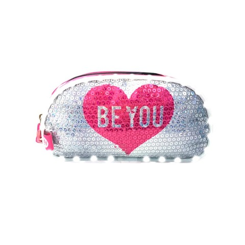 Cartuchera Footy F8072 Be You Blanca