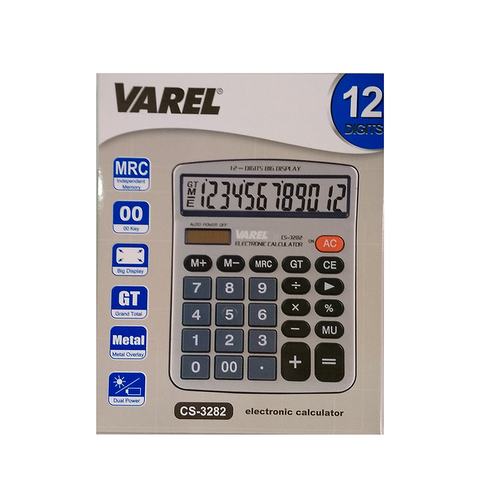 Calculadora Varel CS-3282