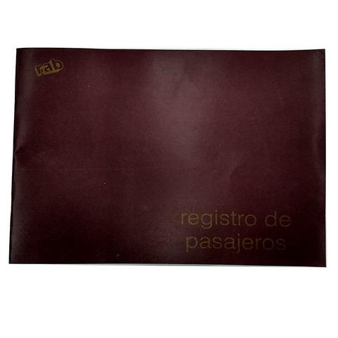 Libro Rab Registro de Pasajeros TF-25 Folios
