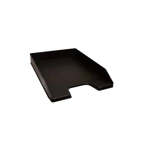 Bandeja Papelera A4 Negra Plástica