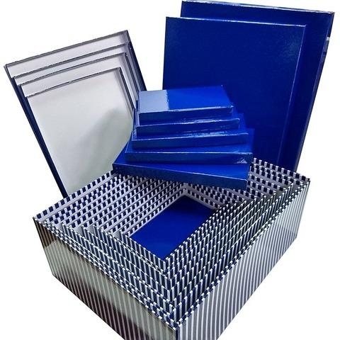 Set de Cajas x12 forradas