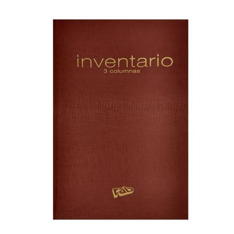 Libro Rab Inventario 3C TD-200 Folios